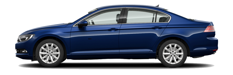 Take the Passat for a test drive. Image