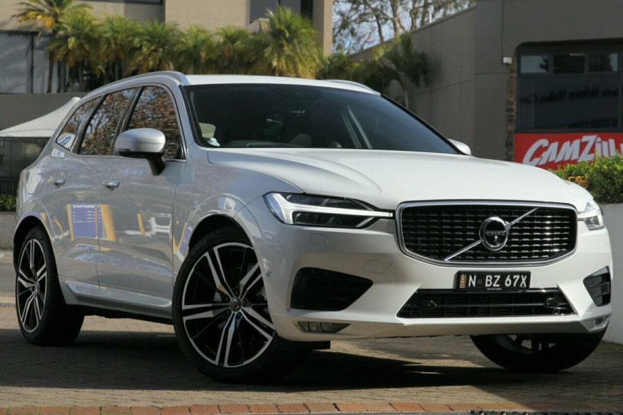 2018 Volvo XC60 UZ T6 R-Design (AWD) Suv Mobile Image 1