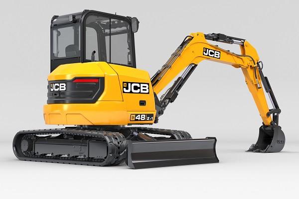 2021 JCB 48Z-1 Excavator (No Series) 48Z-1 Excavator Image 3