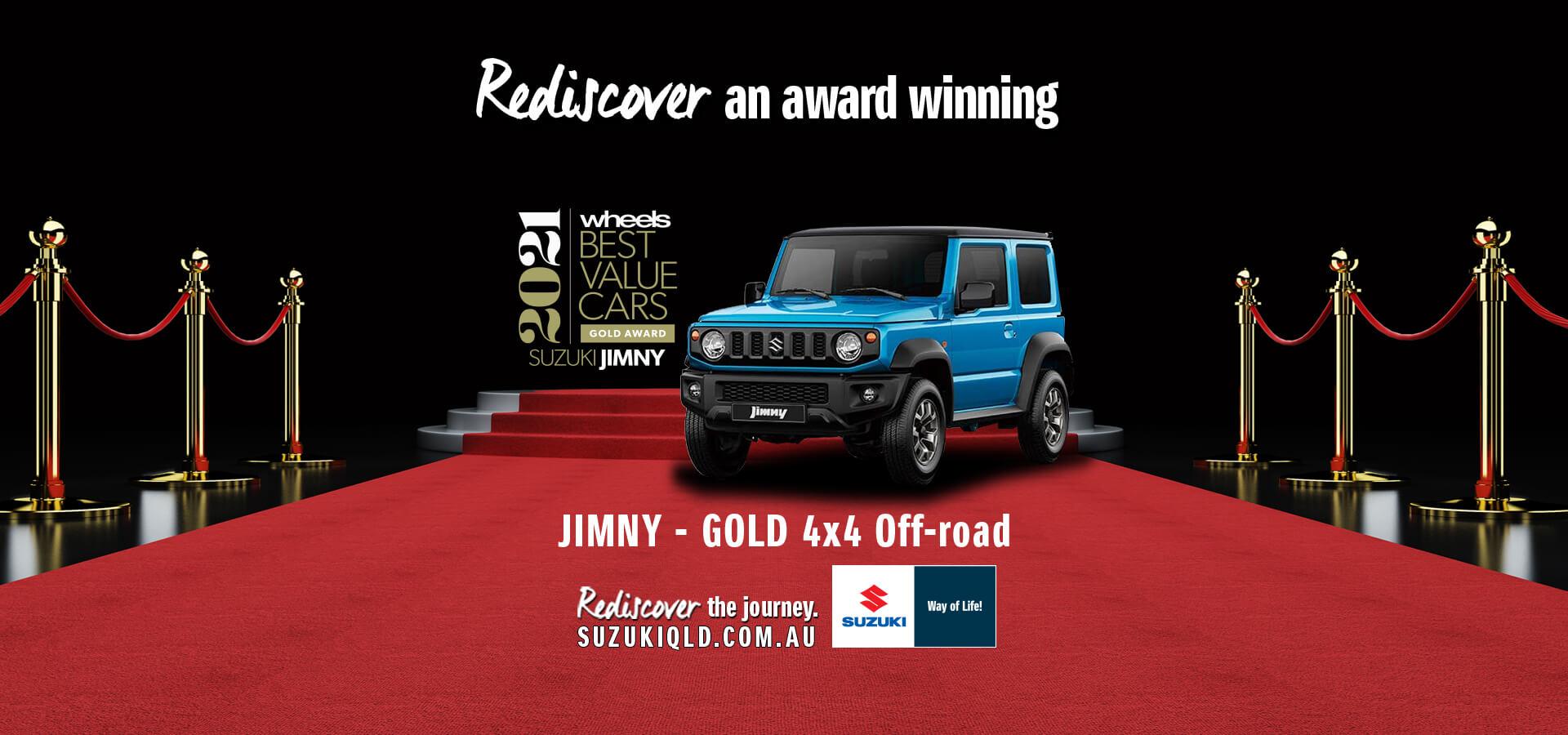 Rediscover the award winning Jimny