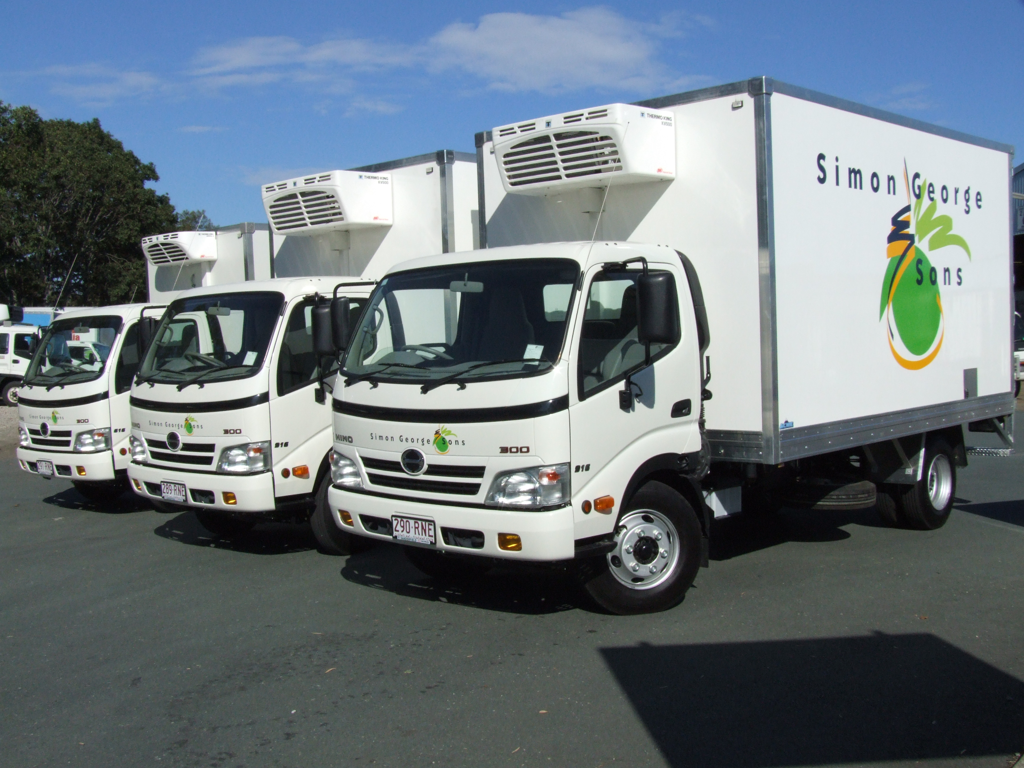 AUTOMATIC 2 PALLET HINO $63,888 DRIVEAWAY