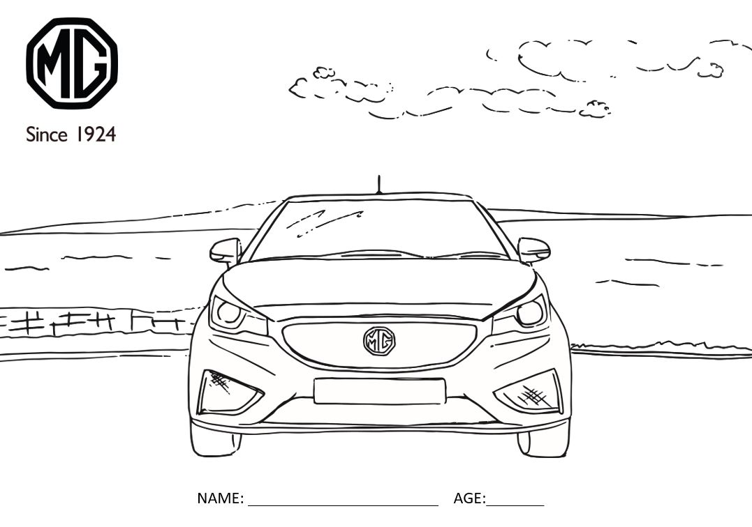 MG Colouring In Competition