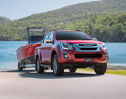 Isuzu UTE 3.5t Tonne Towing