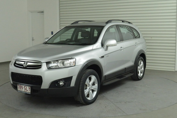 2012 Holden Captiva Vehicle Description. CG  II MY12 7 CX WAG SA 6SP 2.2DT 7 Suv Image 2