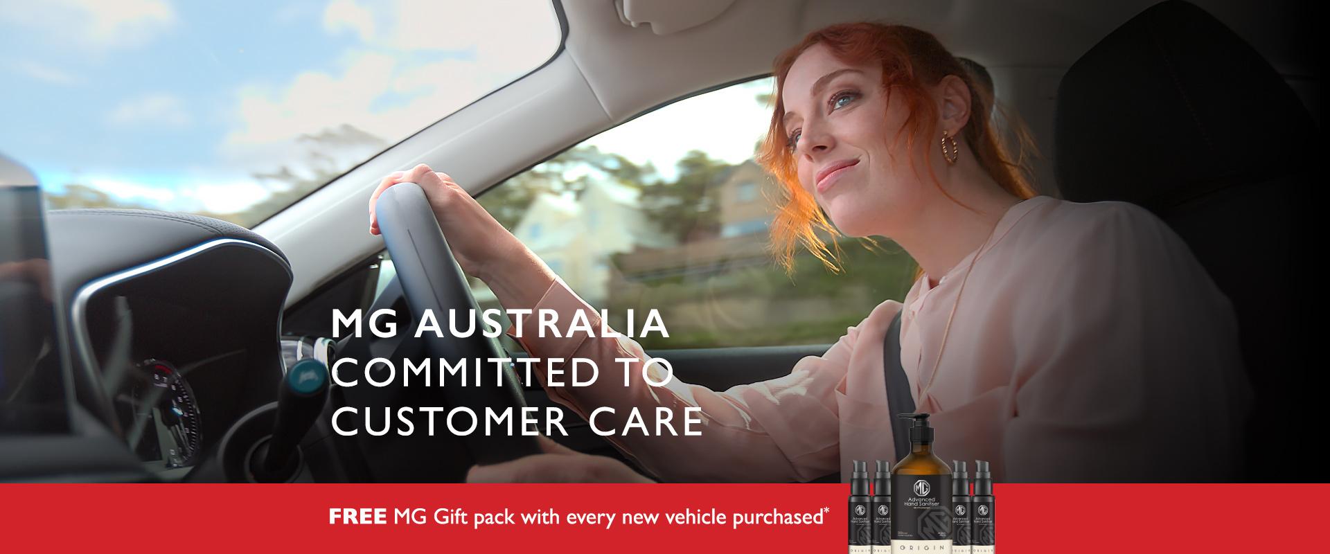 MG Sanitization Pack Offer