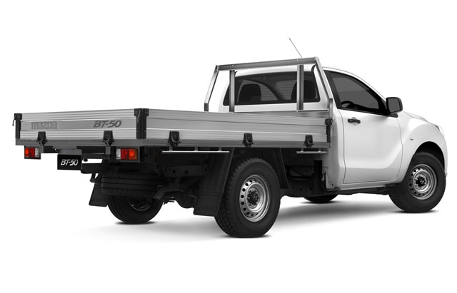 STANDARD SINGLE CAB LO-RIDER ALLOY TRAY