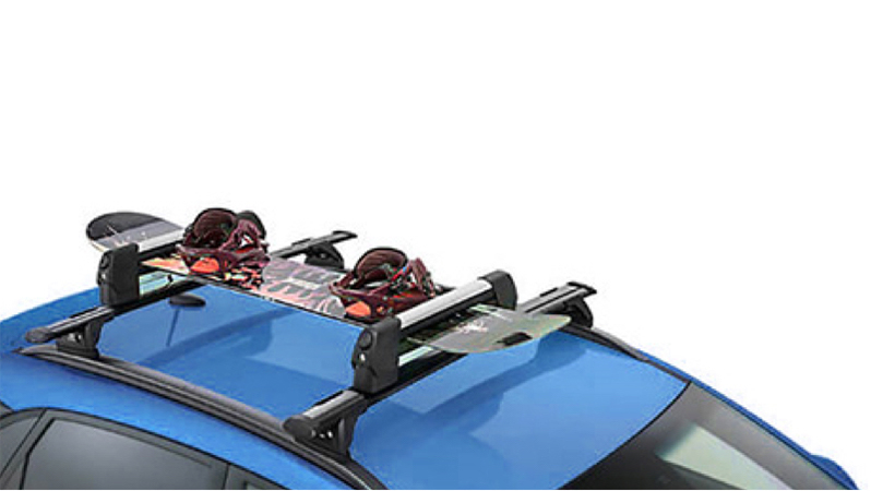Ski & snowboard carrier.