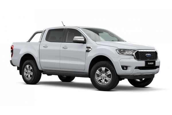 2020 MY21.25 Ford Ranger PX MkIII XLT Double Cab Cab chassis Image 2