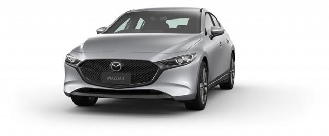 2020 Mazda 3 BP G20 Evolve Hatch Hatchback Mobile Image 3
