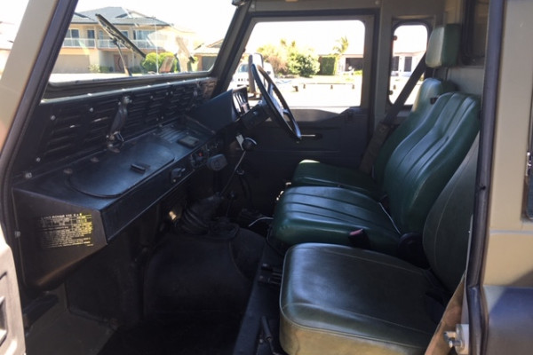 1996 Land Rover Defender 130 Ag-quip special Cab chassis