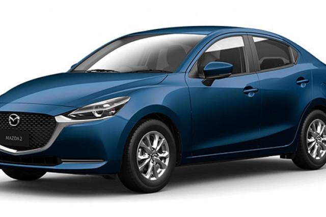 2020 Mazda 2 DL Series G15 Pure Sedan Sedan