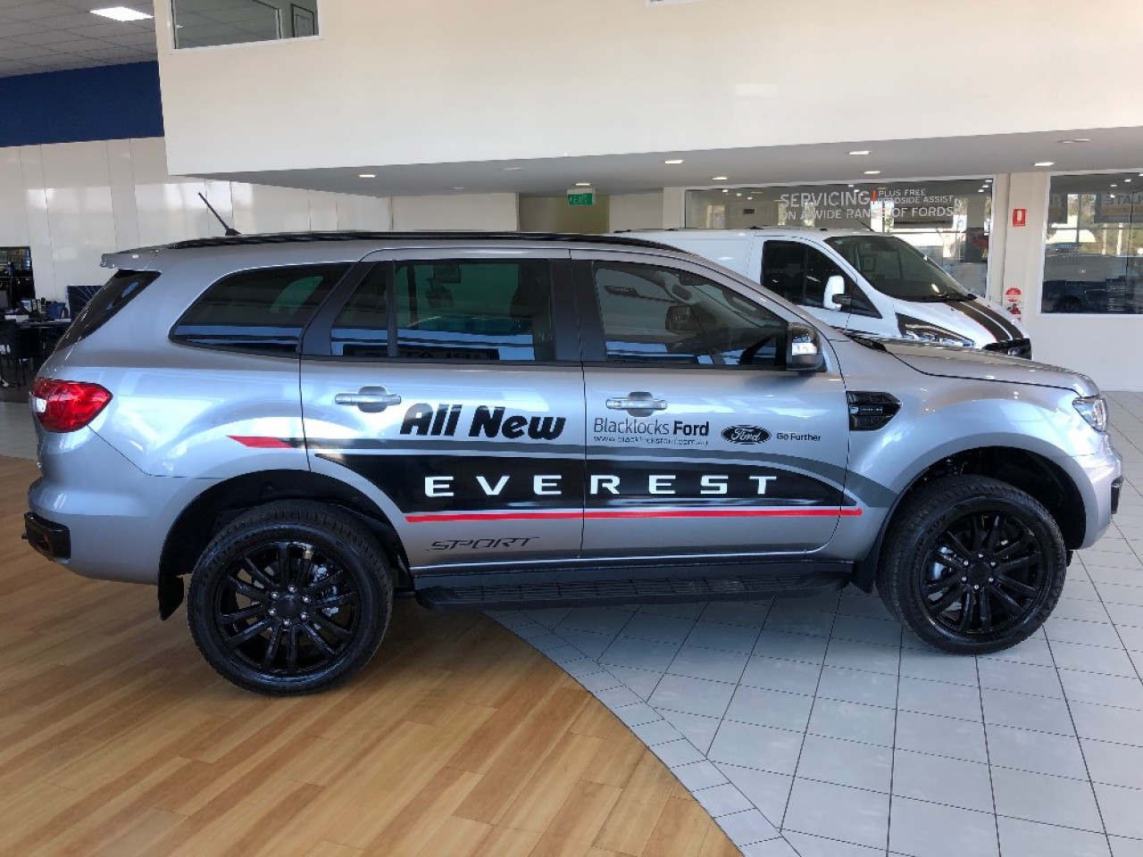 2019 MY20.25 Ford Everest UAII Sport Suv