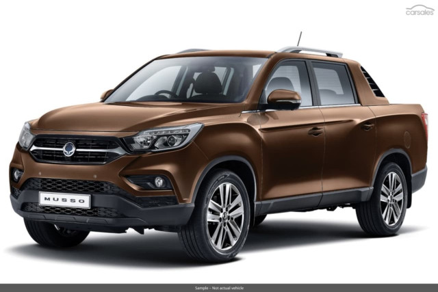 2019 SsangYong Musso ELX