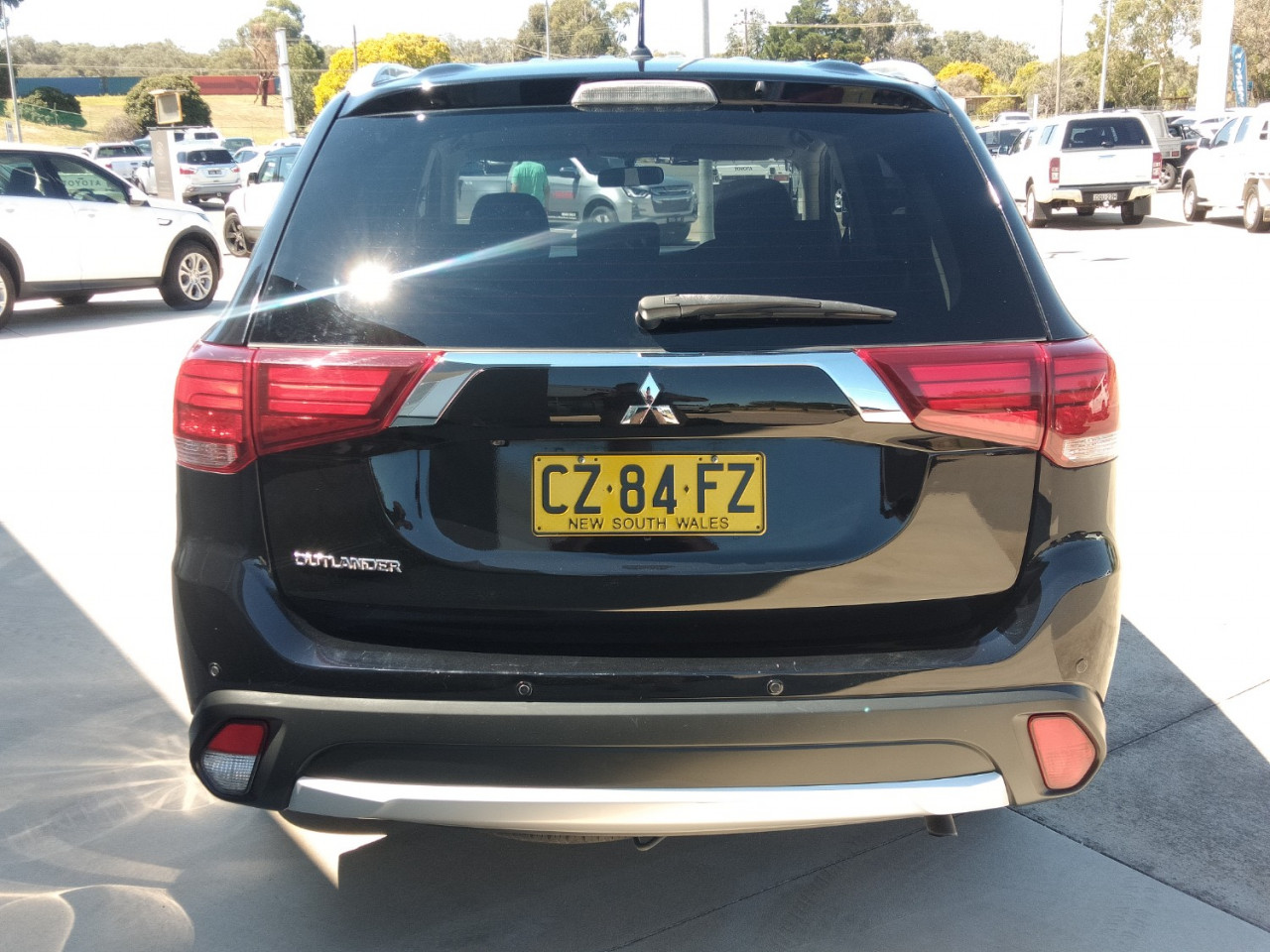 2016 Mitsubishi Outlander ZK MY16 LS Suv Image 4