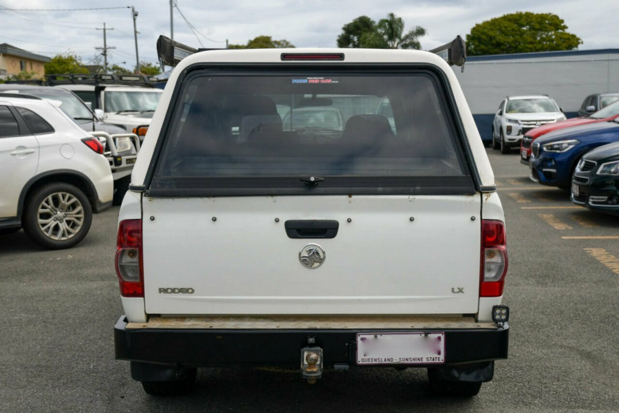 2007 Holden Rodeo RA MY07 LX Crew Cab Cab chassis