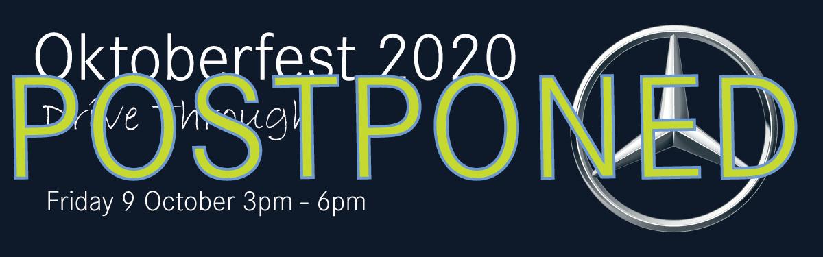 OKTOBERFEST 2020 - POSTPONED TO 2021