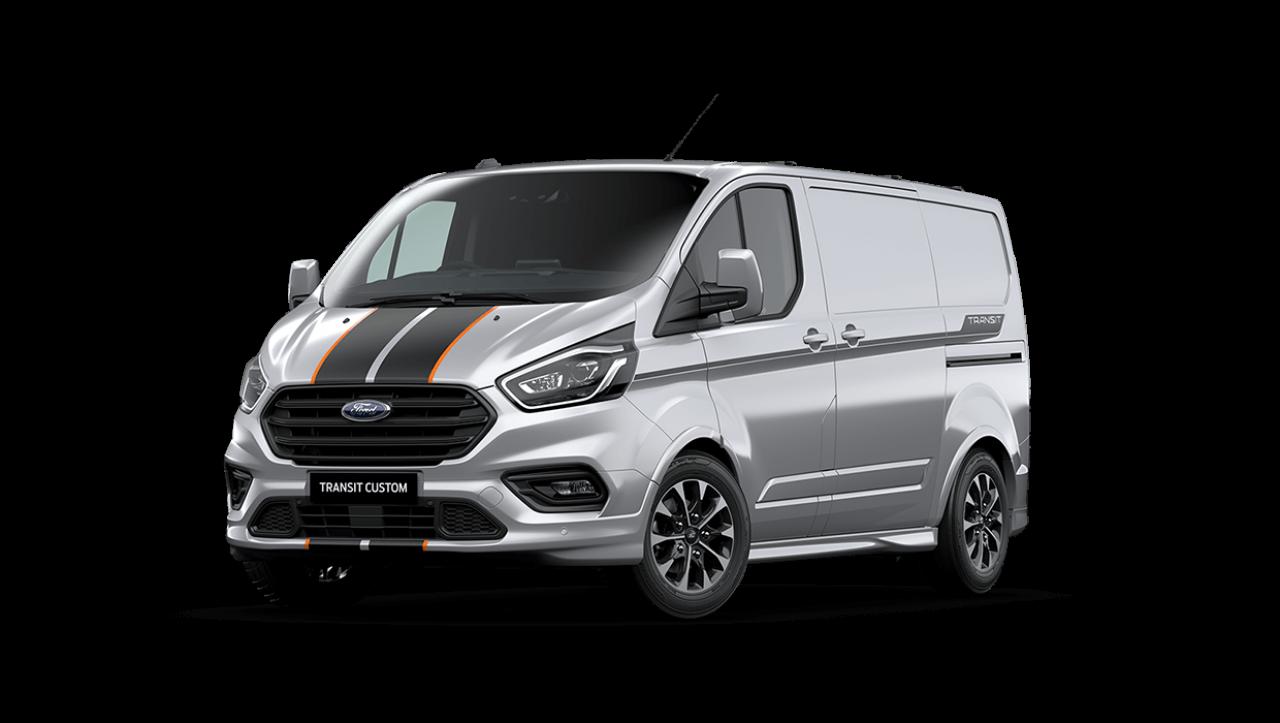 2020 MY20.5 Ford Transit VN Custom Sport 320S SWB Van Image 7