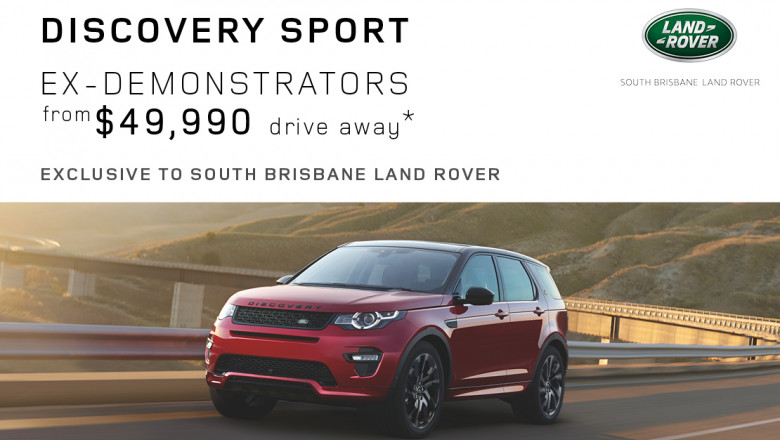 Land Rover Discovery Sport Ex-Demonstrator