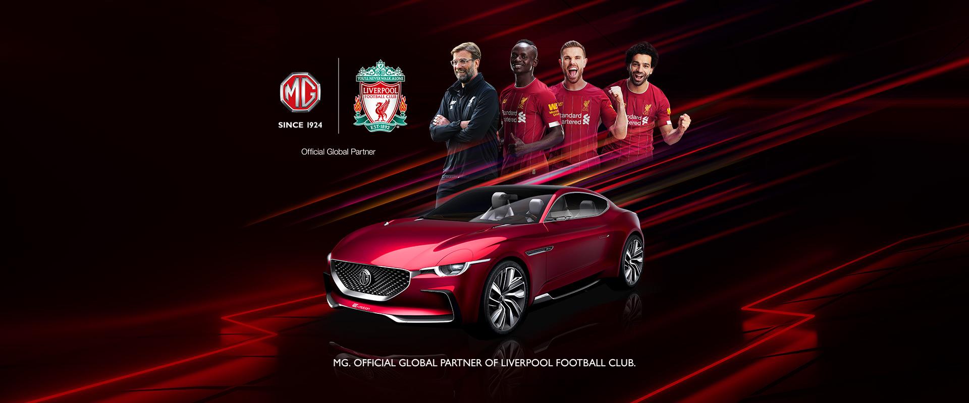 MG Motors - The Official Car Partner Of Liverpool FC