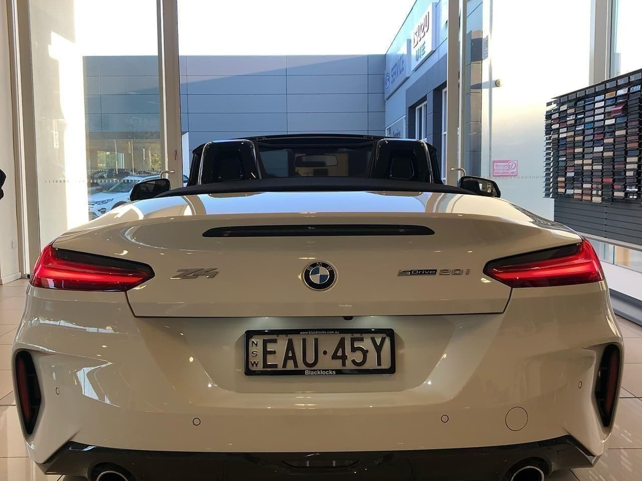 2018 BMW Z Series G29 sDrive20i