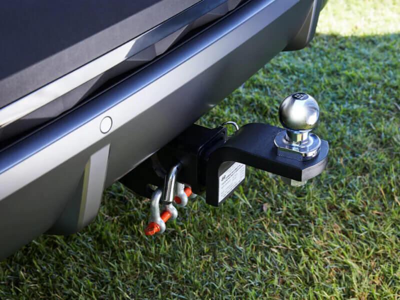 Towbar towball & trailer wiring harness