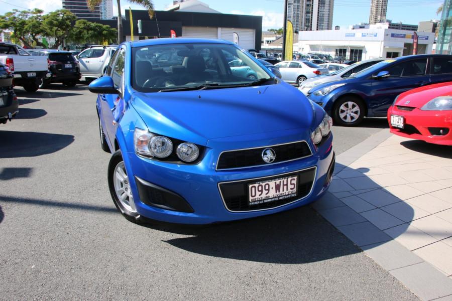 2012 Holden Barina TM TM Sedan