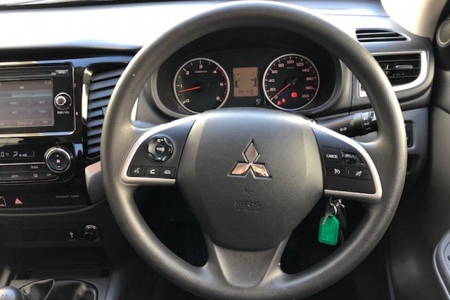 2017 Mitsubishi Triton MQ MY17 GLX+ Utility