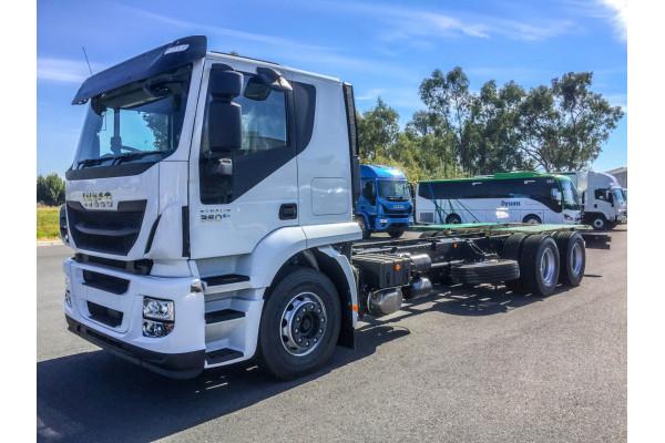 2021 Iveco Stralis ATi 360 Cab chassis Image 4