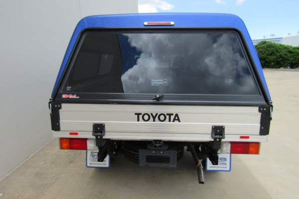 2018 Toyota HiLux TGN121R WORKMATE Cab chassis Image 4