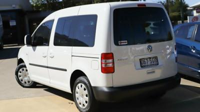 2012 Volkswagen Caddy 2K MY12 TDI250 Wagon Life SWB DSG Startline Wagon Image 2