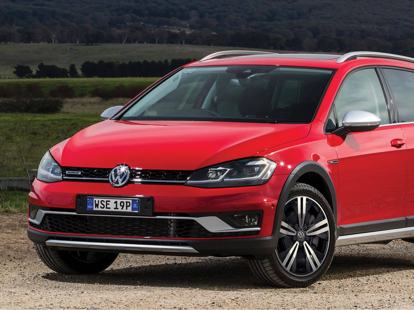 Golf Alltrack Gets you <strong>noticed</strong>