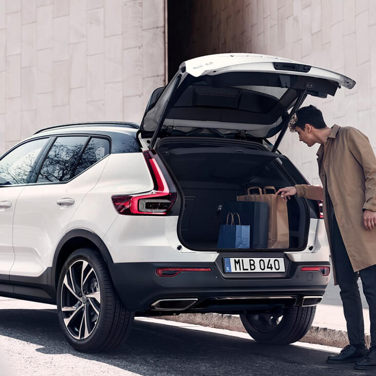 XC40 Flexible space