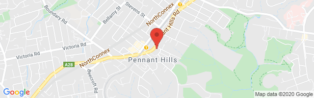 Pennant Hills MG Map