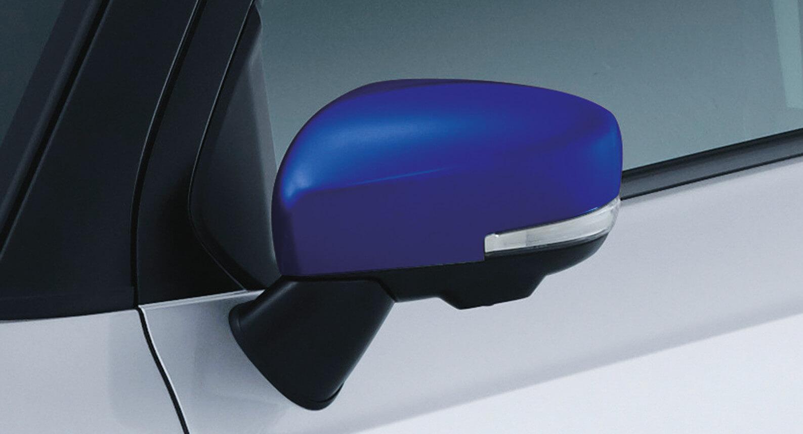 Ignis - Door Mirror Cover, Blue