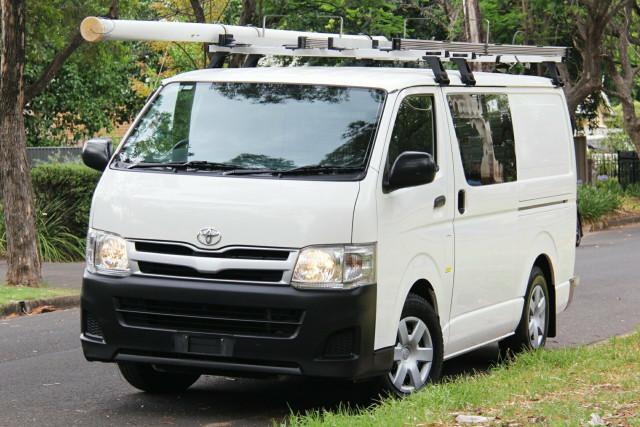 2013 MY12 Toyota HiAce KDH201R MY12 LWB Van
