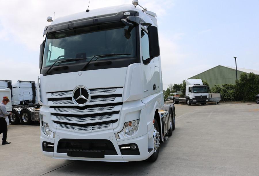 2021 Mercedes-Benz Actros MP5 2658 StreamSpace  Prime mover