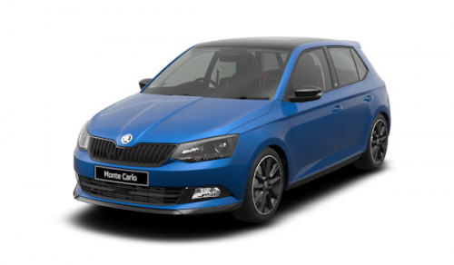 2018 MY19 Skoda Fabia NJ Monte Carlo Hatch Sedan