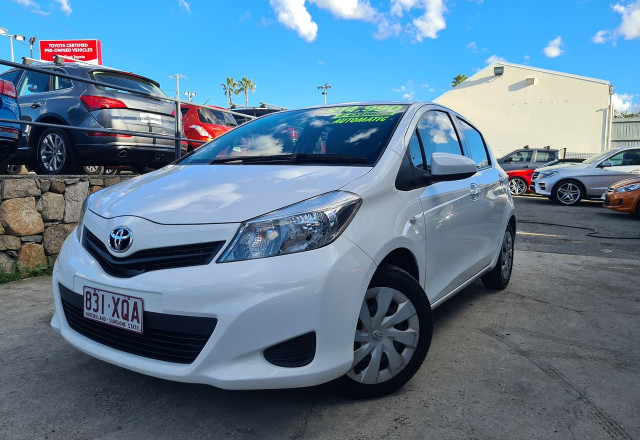 2014 Toyota Yaris NCP131R YRS Hatchback