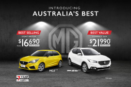 Value, Style and Personality... Introducing Australia's Best at MG!