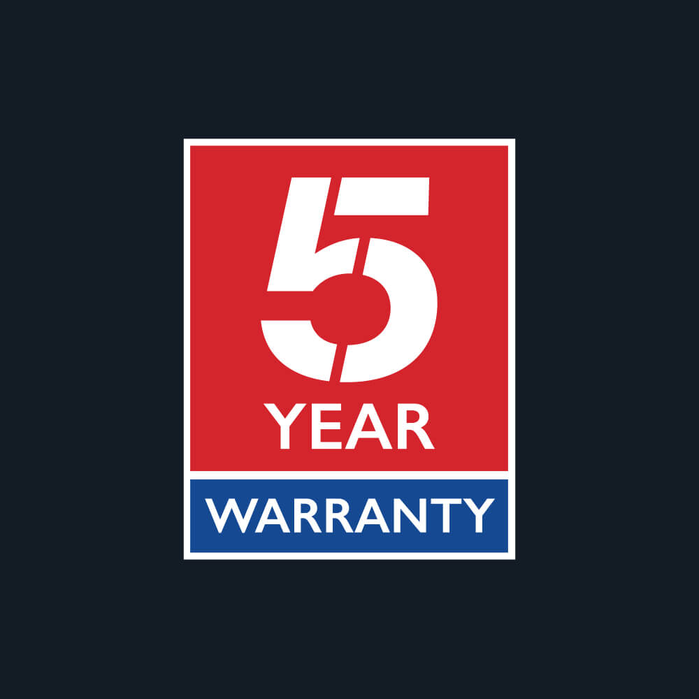 MG 5 year warranty