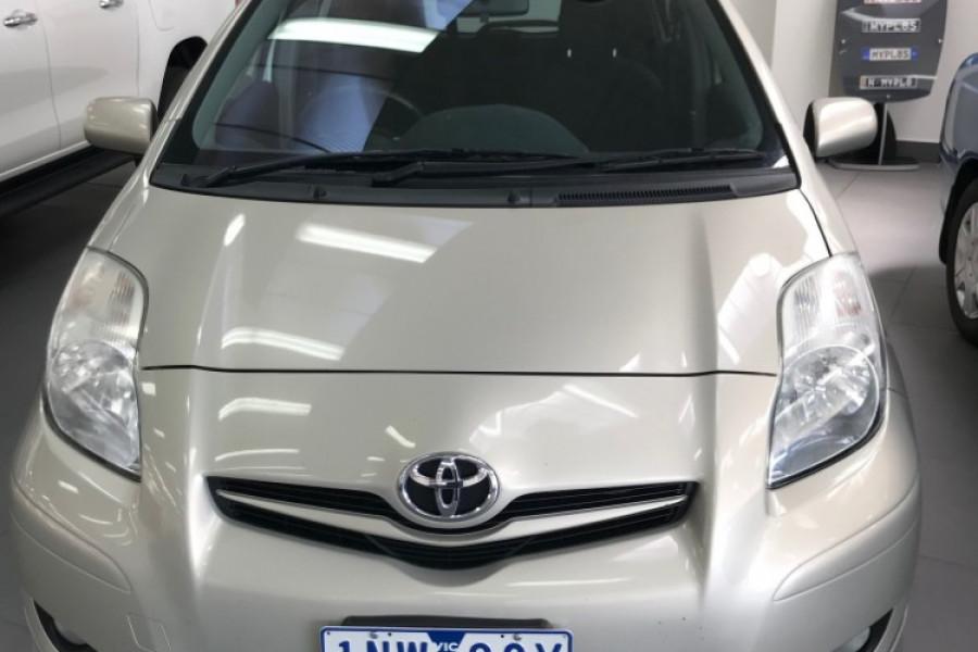 2011 Toyota Yaris NCP91R  YRX Hatchback