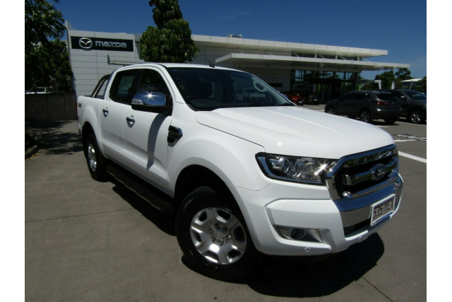 2018 Ford Ranger PX MkII 2018.00MY XLT Double Cab Utility