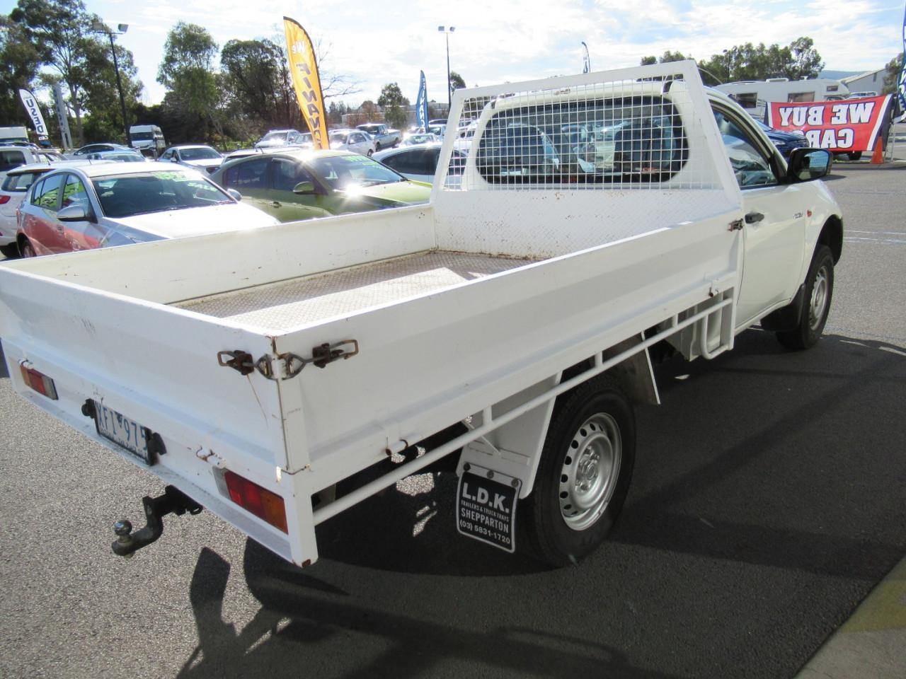 2009 Mitsubishi Triton ML MY09 GL Cab chassis
