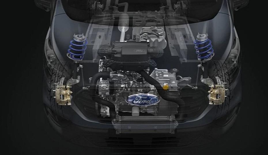 Transit Van Advanced 2.0L EcoBlue Engine