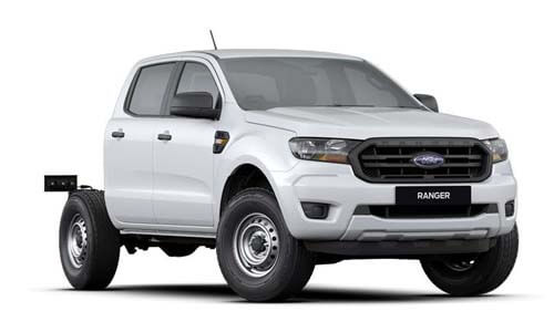 2019 MY19.75 Ford Ranger PX MkIII 4x2 XL Double Cab Chassis Hi-Rider Cab chassis