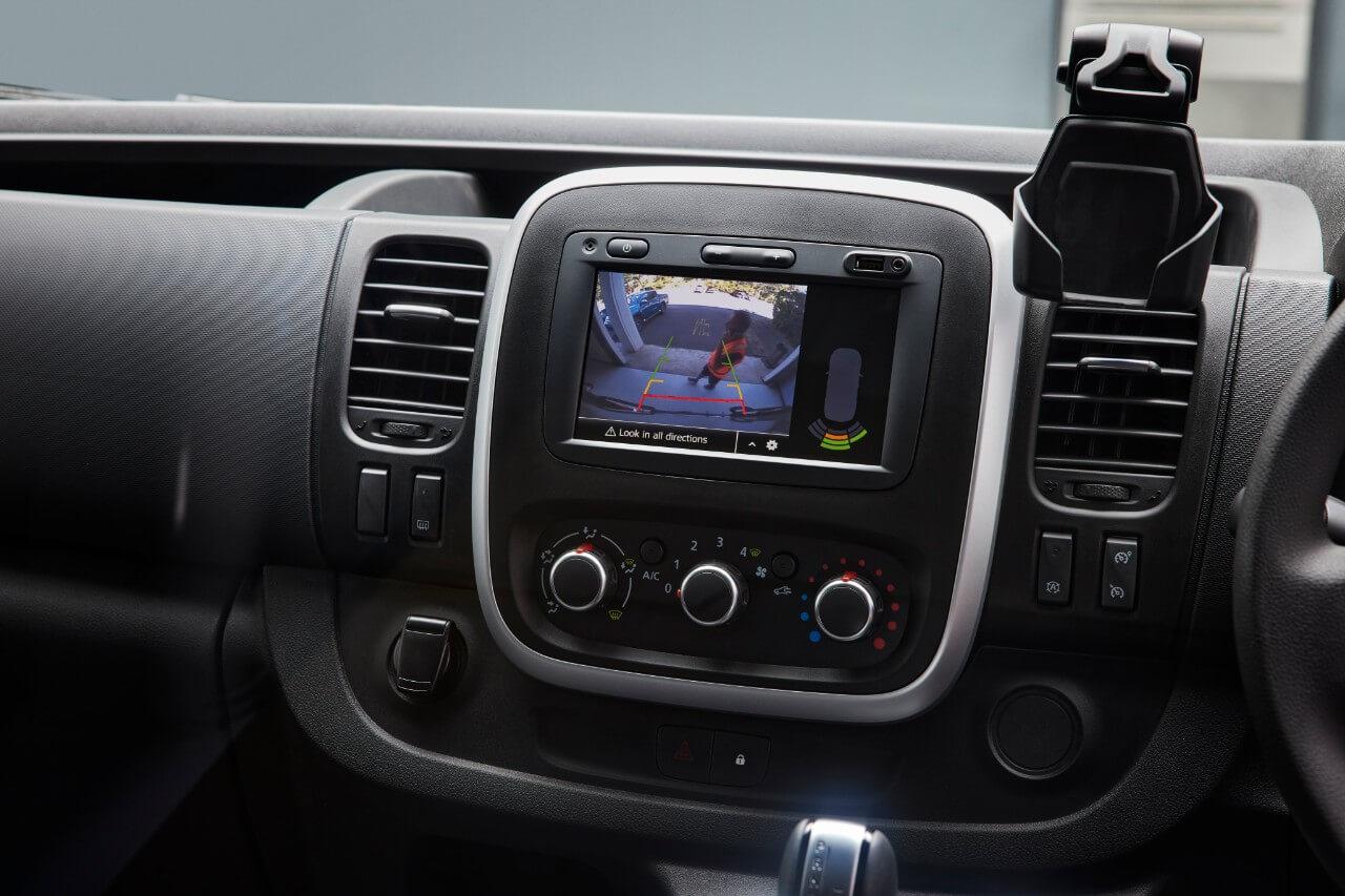 Rear view camera Image