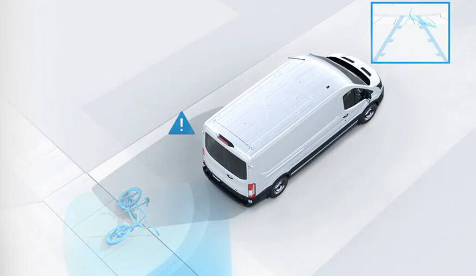 Transit Van Rear Parking Sensors