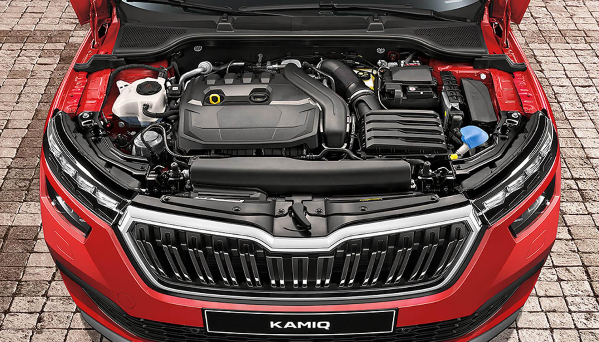 Kamiq Turbocharged Engine