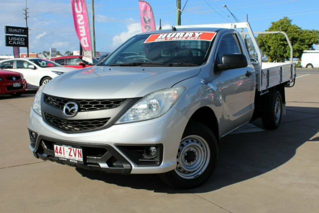 2013 Mazda BT-50 UP0YD1 XT 4x2 Cab chassis Image 2