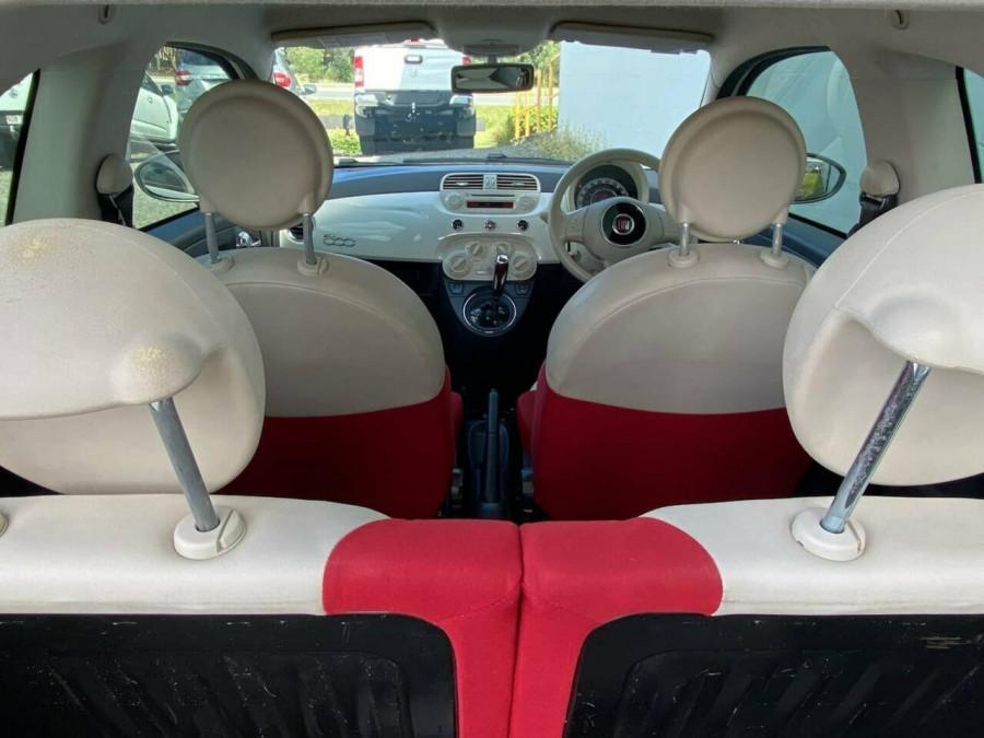 2008 Fiat 500 Series 1 Pop Dualogic Hatchback Image 10